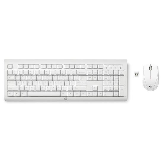 Pack clavier-souris bureautique HP C2710