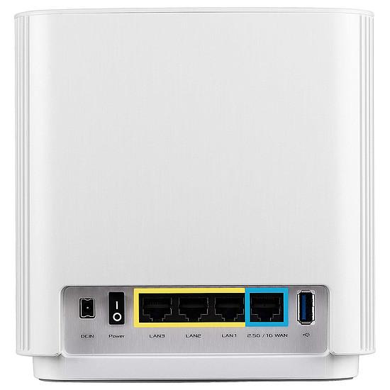 Routeur et modem Asus ZenWiFi AX (AX6600) XT8 - blanc - Autre vue