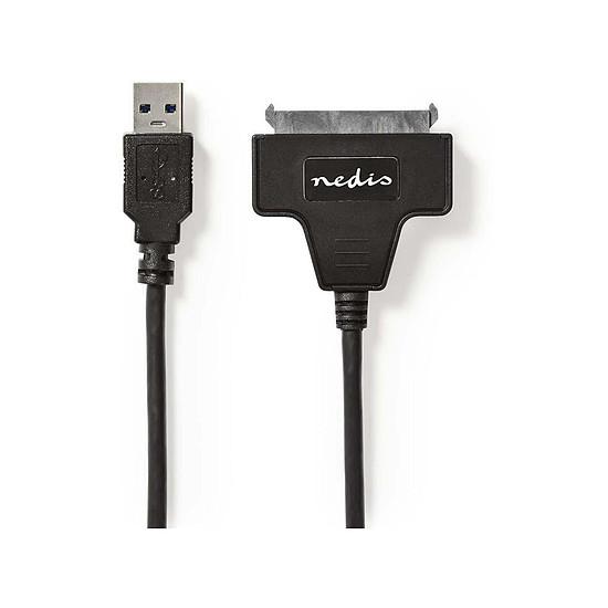 "USB Adaptateur USB 3.0 vers SATA 2,5"" (SSD-HDD auto-alimenté)"