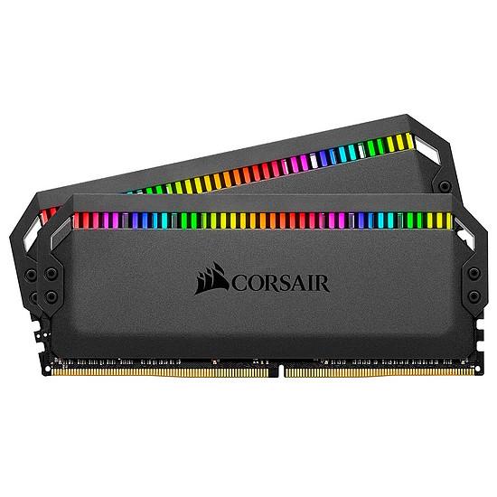 Mémoire Corsair Dominator Platinum RGB Black - 2 x 16 Go (32 Go) - DDR4 3600 MHz - CL18