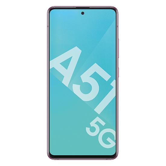 Smartphone et téléphone mobile Samsung Galaxy A51 5G (Rose) - 128 Go