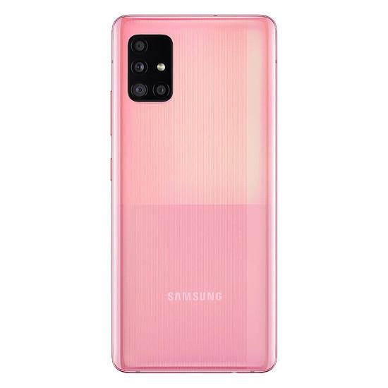 Smartphone et téléphone mobile Samsung Galaxy A51 5G (Rose) - 128 Go - Autre vue