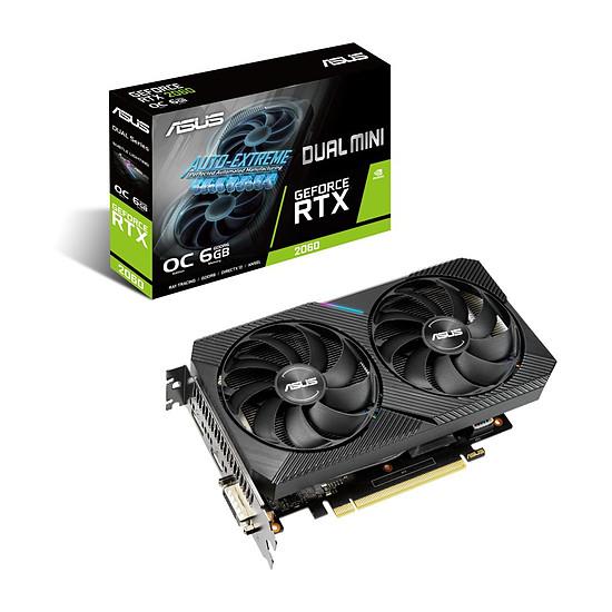 Carte graphique Asus GeForce RTX 2060 Dual OC Mini