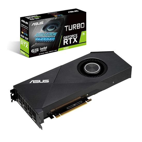 Carte graphique Asus GeForce RTX 2060 Turbo