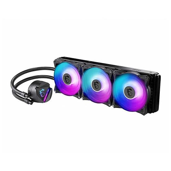 Refroidissement processeur MSI MAG CORELIQUID 360R - Autre vue