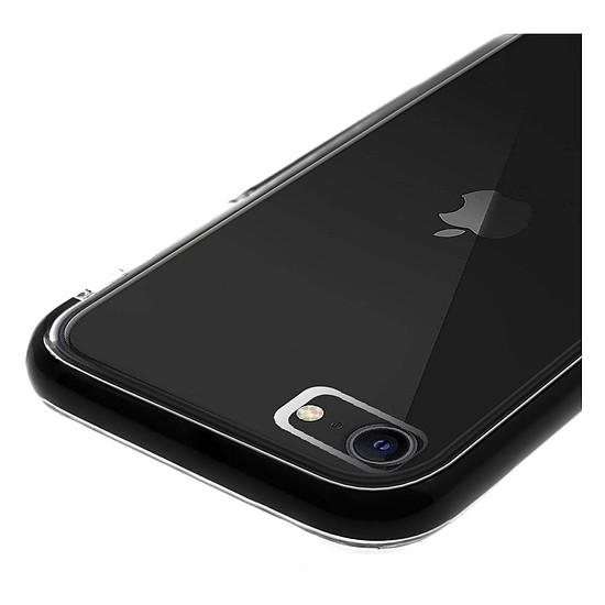 Coque et housse Akashi Coque Ultra Renforcée (transparent) avec bordures noires - Apple iPhone SE / 8 / 7 / 6 - Autre vue