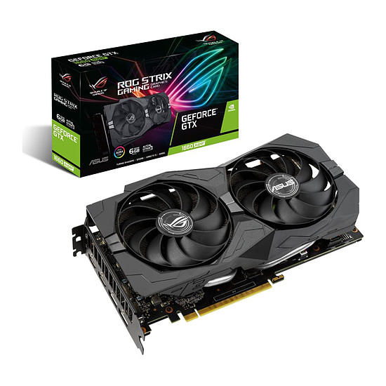 Carte graphique Asus GeForce GTX 1660 SUPER ROG STRIX 6G