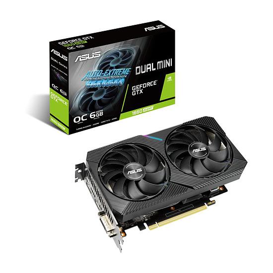 Carte graphique Asus GeForce GTX 1660 SUPER Dual OC Mini