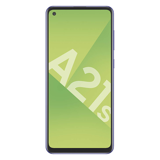 Smartphone et téléphone mobile Samsung Galaxy A21s (bleu) - 32 Go