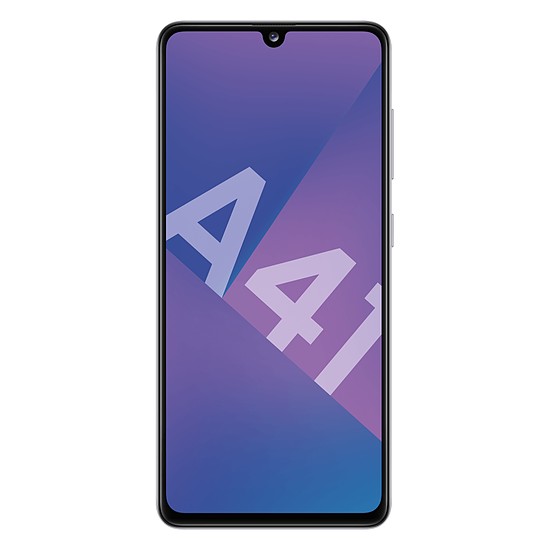 Smartphone et téléphone mobile Samsung Galaxy A41 (blanc) - 64 Go