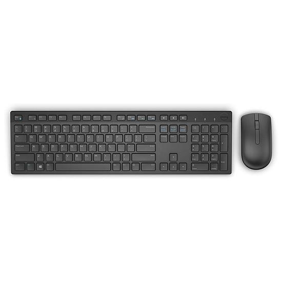 Pack clavier-souris bureautique Dell KM636