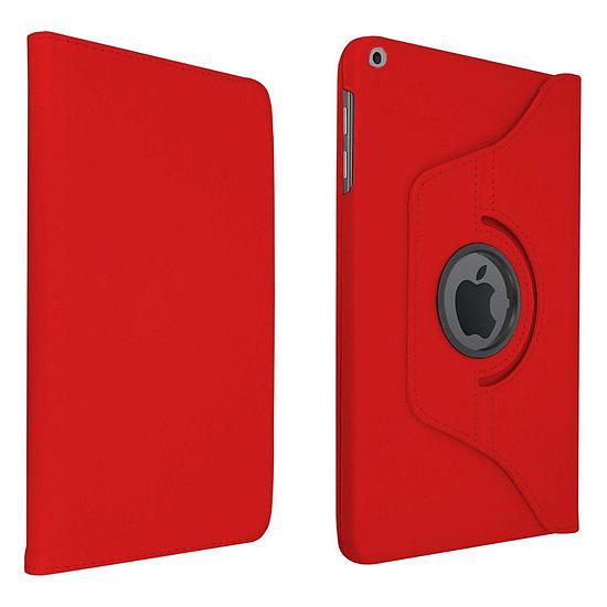 """Accessoires tablette tactile Akashi Etui Folio Rouge pour iPad 10.2"""""""
