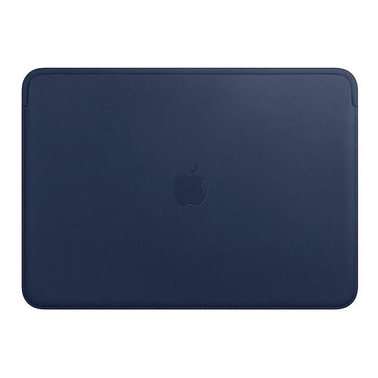 """Sac, sacoche et housse Apple Housse Cuir MacBook Pro 13"""" - Bleu nuit"""