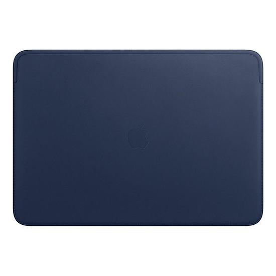 """Sac, sacoche et housse Apple Housse Cuir MacBook Pro 16"""" - Bleu nuit"""