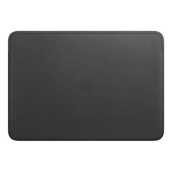 """Sac, sacoche et housse Apple Housse Cuir MacBook Pro 16"""" - Noir"""