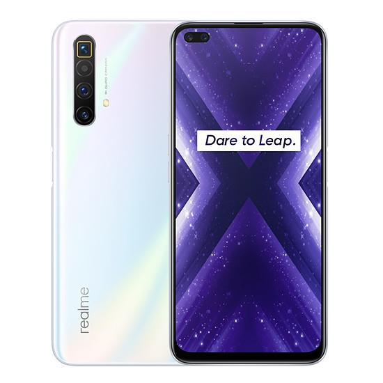 Smartphone et téléphone mobile Realme X3 Super Zoom Blanc Artic - 256 Go - 12 Go