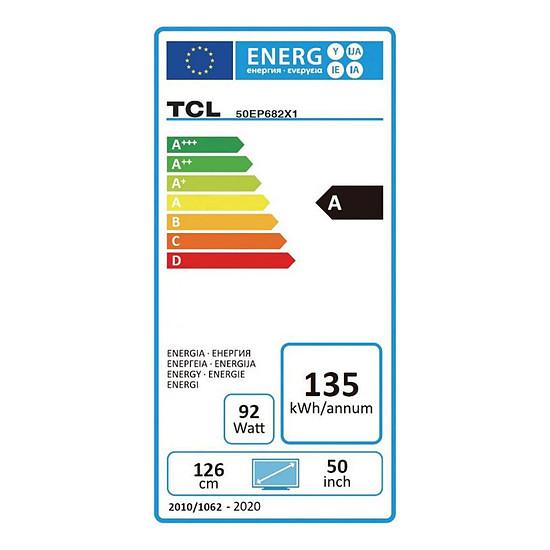 TV TCL 50EP682 - TV 4K UHD HDR - 126 cm - Autre vue