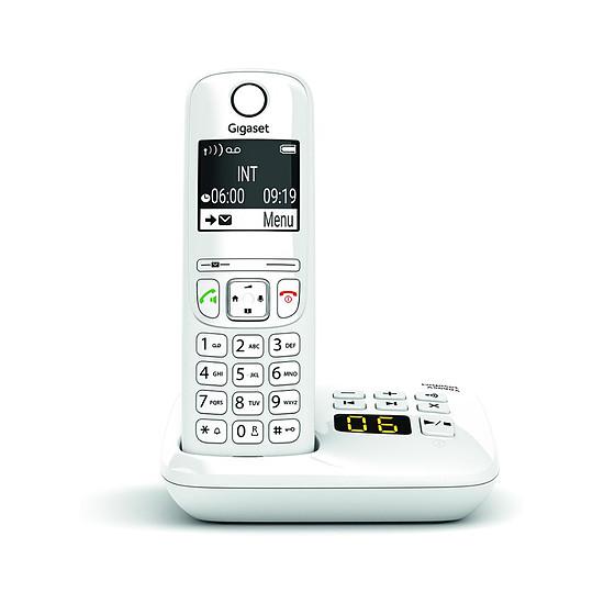 Téléphone fixe sans fil Gigaset AS690A Blanc
