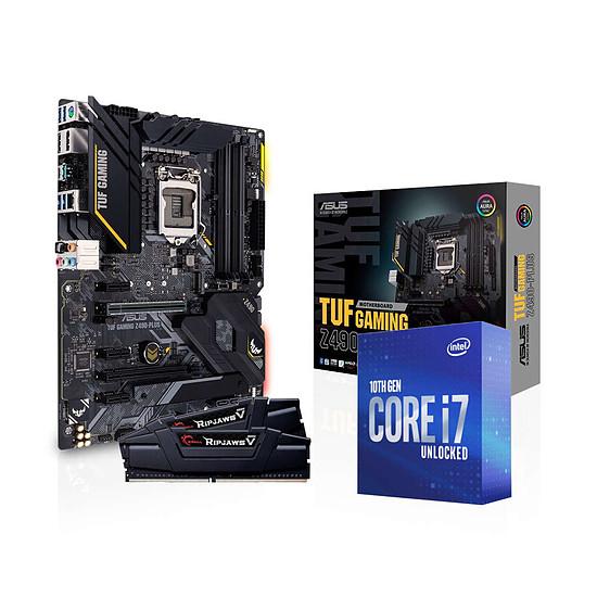Kit upgrade PC Intel i7 10700K - Asus Z490 - RAM 16Go 3600Mhz