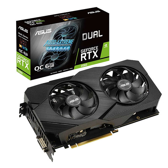 Carte graphique Asus GeForce RTX 2060 Dual OC EVO