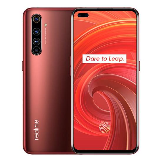 Smartphone et téléphone mobile Realme X50 Pro 5G Rouge - 256 Go - 12 Go