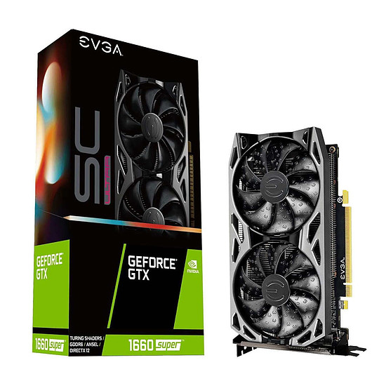 Carte graphique EVGA GeForce GTX 1660 Super SC Ultra