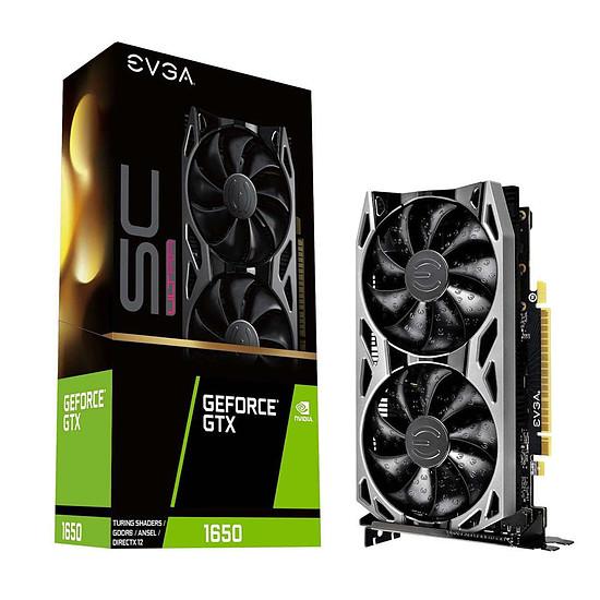 Carte graphique EVGA GeForce GTX 1650 SC Ultra
