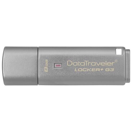 Clé USB Kingston DT Locker+ G3 - 8 Go