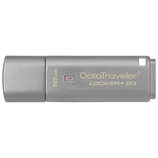 Clé USB Kingston DT Locker+ G3 - 16 Go