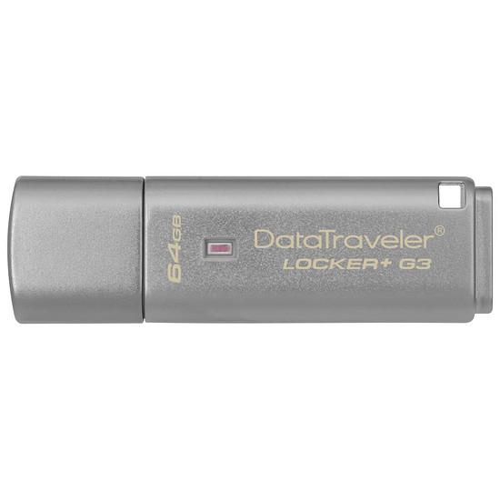 Clé USB Kingston DT Locker+ G3 - 64 Go