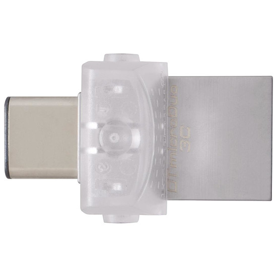 Clé USB Kingston DataTraveler MicroDuo 3C - 128 Go - Autre vue