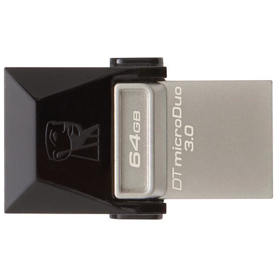Clé USB Kingston DataTraveler microDuo 3.0 Noir - 64 Go