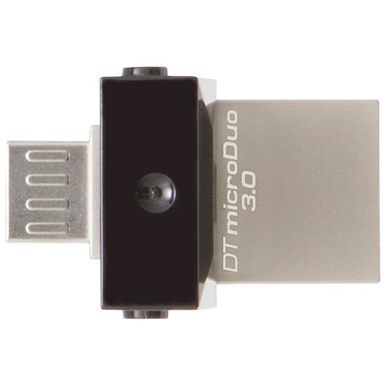 Clé USB Kingston DataTraveler microDuo 3.0 Noir - 64 Go - Autre vue