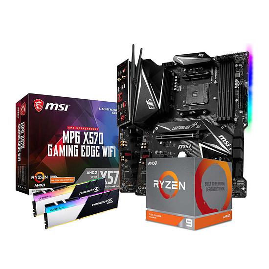 Kit upgrade PC AMD Ryzen 9 3900X - MSI X570 - RAM 32Go 3600Mhz