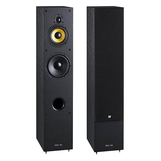 Enceintes HiFi / Home-Cinéma Davis Acoustics Mia 60 (la paire) - noir