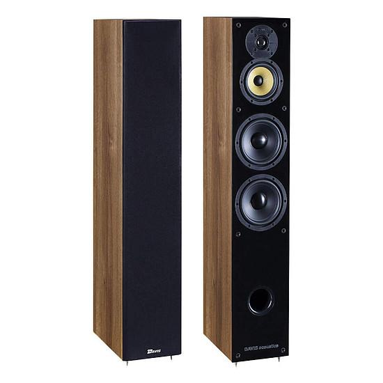 Enceintes HiFi / Home-Cinéma Davis Acoustics Balthus 70 (la paire) - noyer