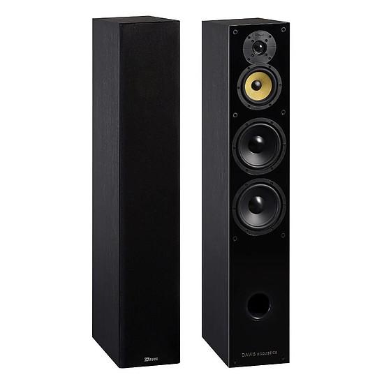 Enceintes HiFi / Home-Cinéma Davis Acoustics Balthus 70 (la paire) - frêne noir