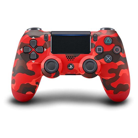 Manette de jeu Sony PS4 DualShock 4 v2 - Camouflage Rouge