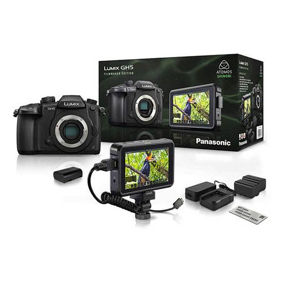 Appareil photo hybride Panasonic DC-GH5 FilmMaker Edition