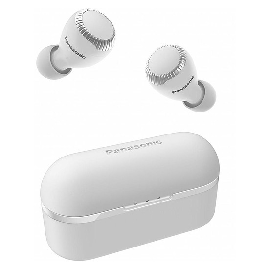 Casque Audio Panasonic RZ-S300W Blanc avec boîtier de charge - Écouteurs sans fil