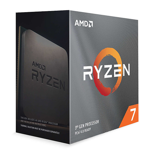 Processeur AMD Ryzen 7 3800XT - Autre vue