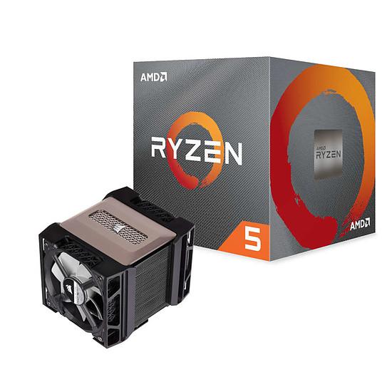 Processeur AMD Ryzen 5 3600XT + Corsair A500