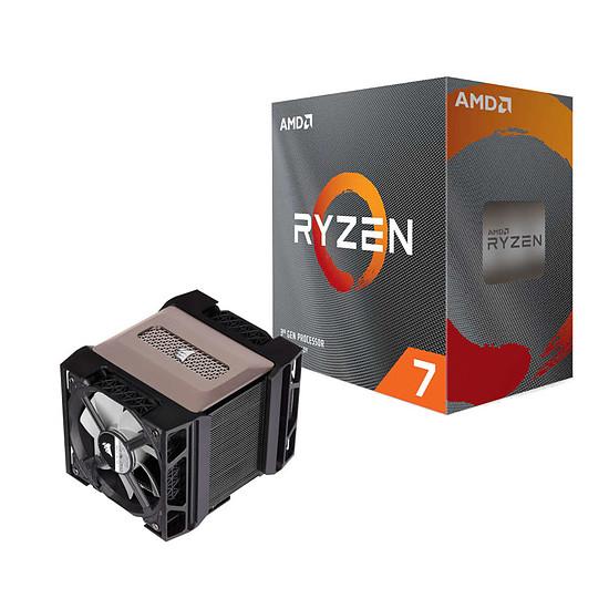 Processeur AMD Ryzen 7 3800XT + Corsair A500
