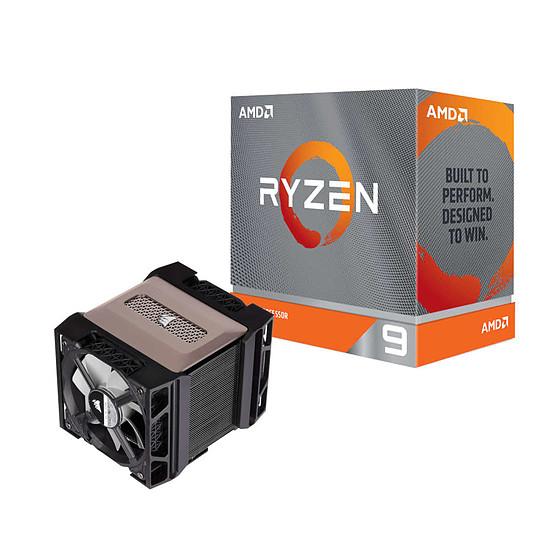 Processeur AMD Ryzen 9 3900XT + Corsair A500