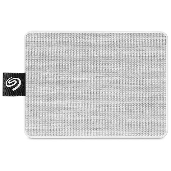 Disque dur externe Seagate One Touch SSD Blanc - 500 Go