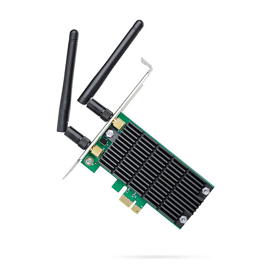 Carte réseau TP-Link Archer T4E - Adaptateur PCIe Wi-Fi AC1200