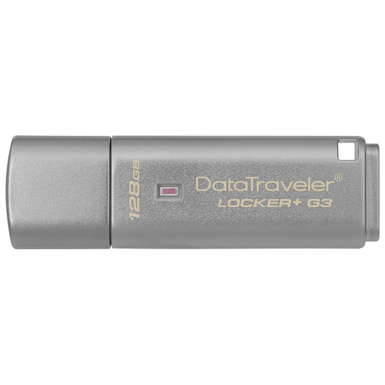 Clé USB Kingston DT Locker+ G3 - 128 Go