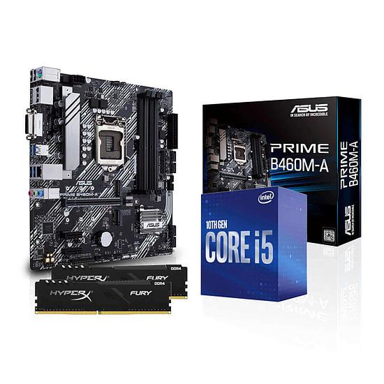 Kit upgrade PC Intel i5 10500 - Asus B460 - RAM 16Go 2666Mhz