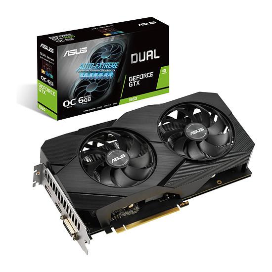Carte graphique Asus GeForce GTX 1660 Dual OC EVO