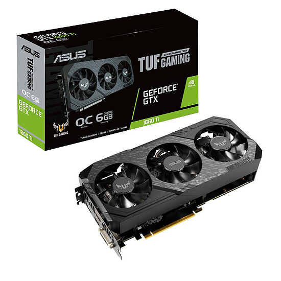 Carte graphique Asus TUF X3 GeForce GTX 1660 Ti OC
